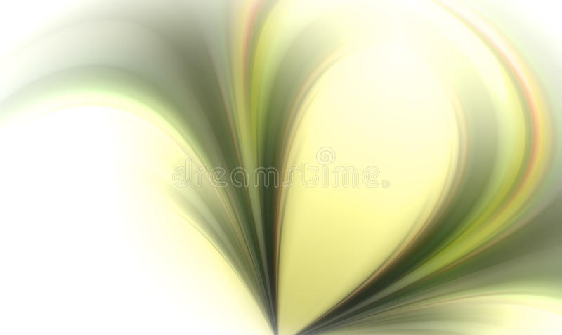 Soft light background. Soft and light abstract composition royalty free illustration
