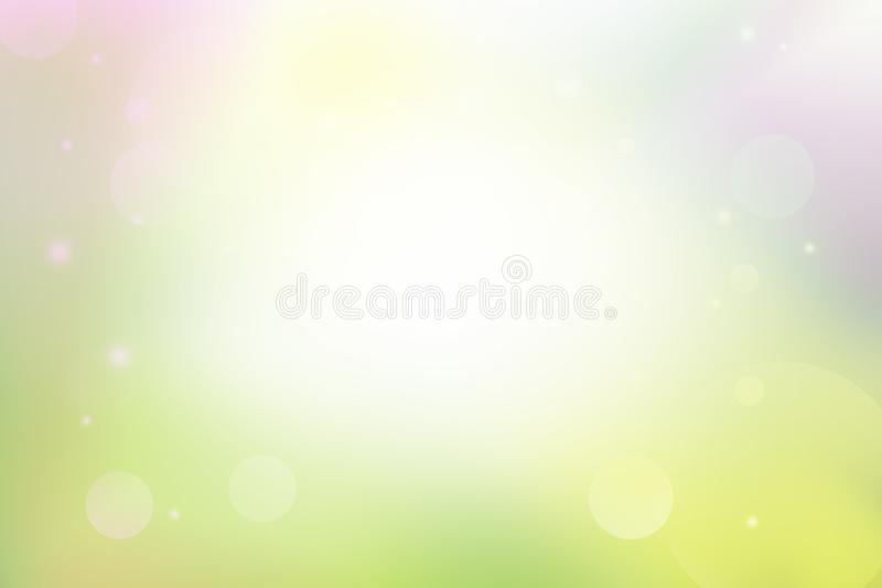 Soft light and bokeh abstract background, colorful background. Colorful and soft light abstract background, soft light and bokeh abstract background vector illustration