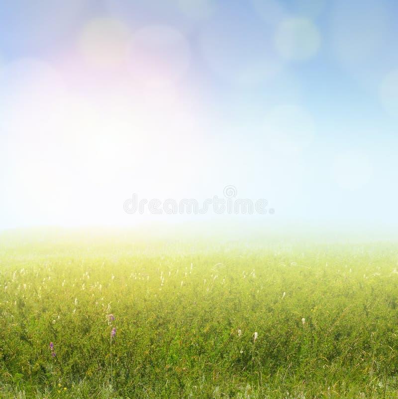 Landscape lighting stock photos : Soft light landscape stock images image