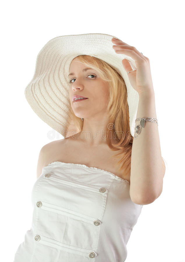 Soft light portrait lady royalty free stock photo