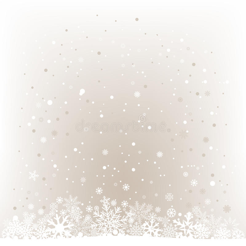 Soft light snow mesh background. The white snow on the soft light mesh background, winter theme. No transparent objects royalty free illustration