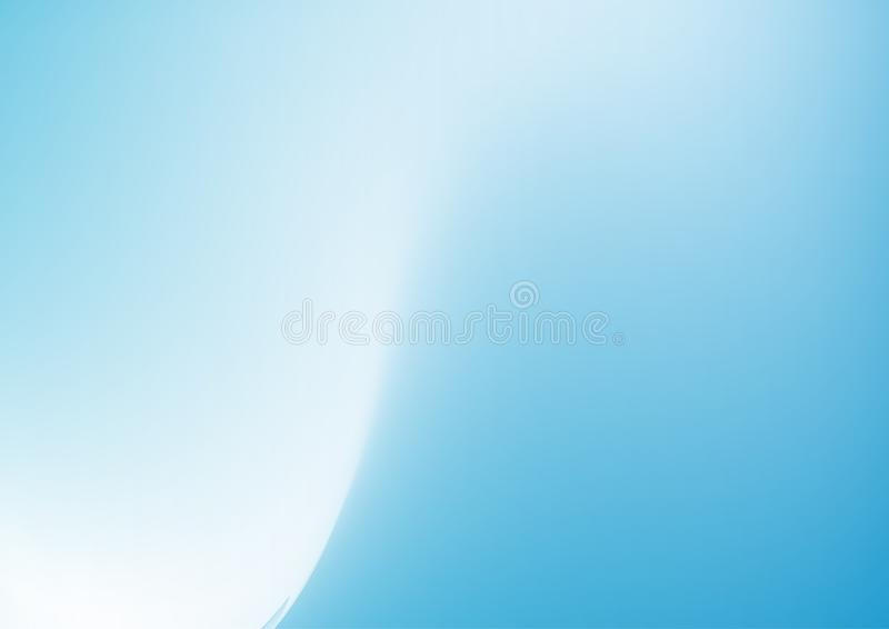 Blue lighting color white clean abstract background. Soft lighting blue and white color clean abstract background vector illustration vector illustration
