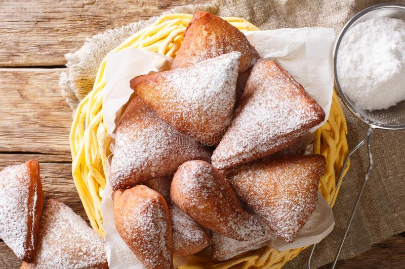 Soft Mandzi East African Doughnuts made with grated coconut, stock photography