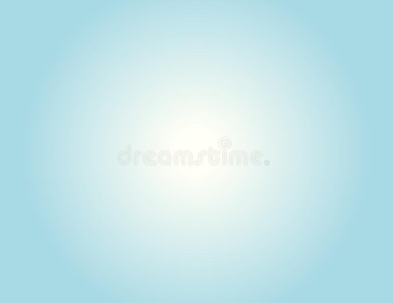 soft pastel blue with white gradient for background royalty free illustration