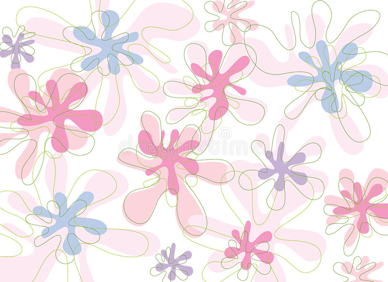 Download Soft Pink Blooms stock vector. Illustration of confetti - 2541055