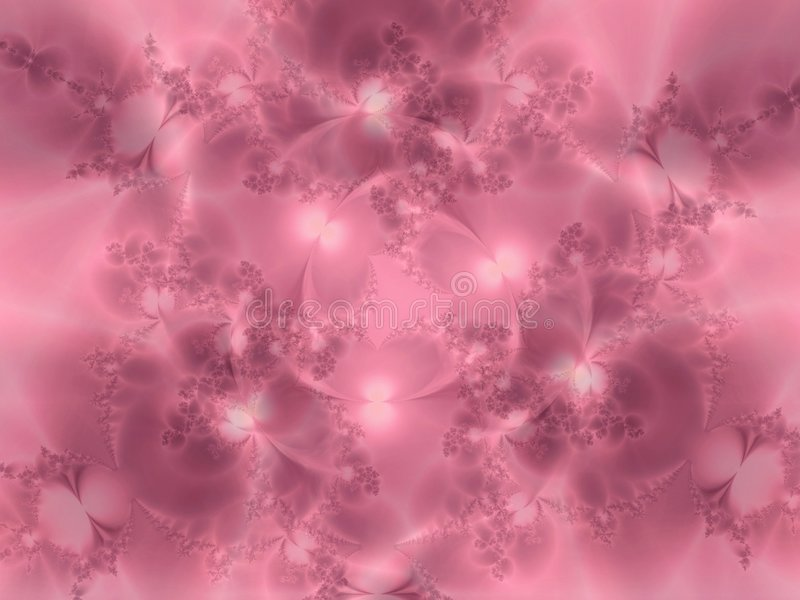 Soft Pink Flowery Texture Stock Image