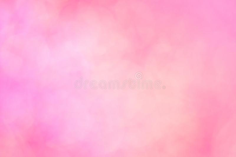 Soft pink pastels background. Blurred lights for tender wedding cards royalty free stock photos