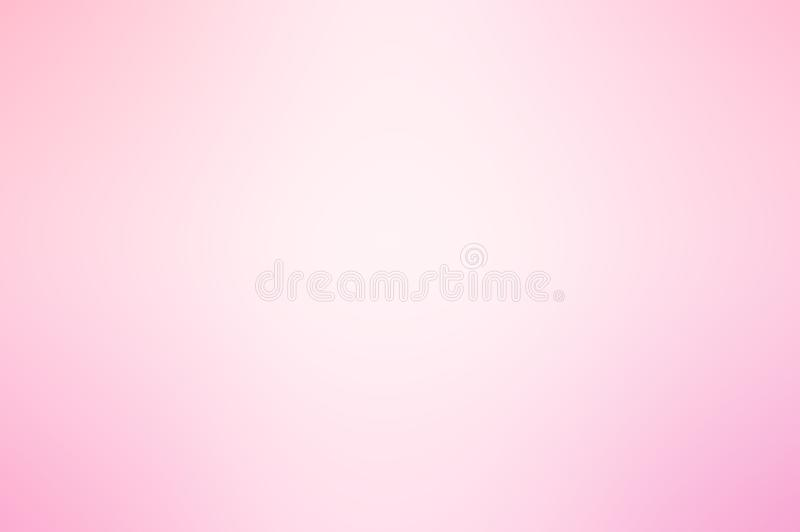 Soft pink and white gradient background. Soft pink and white light center spacre gradient background stock photos