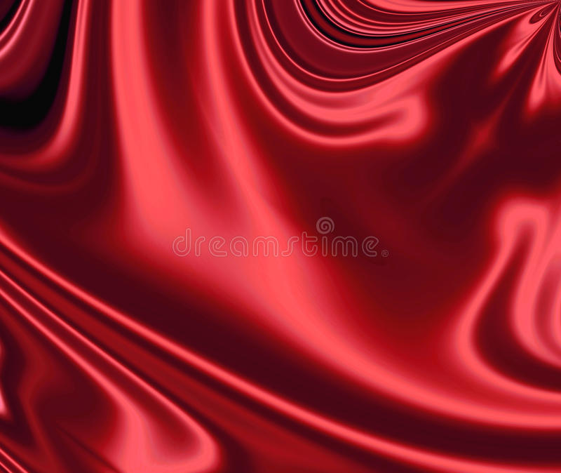 Download Soft red satin stock image. Image of curtain, creases - 29373113