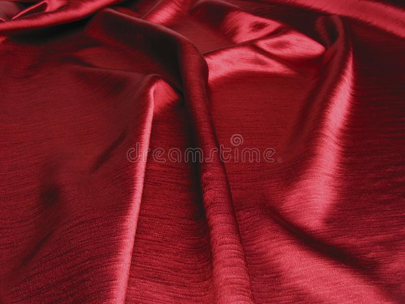 Soft red satin background royalty free stock photo