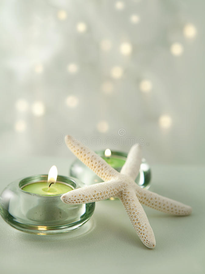 Download Soft Spa Scene With Gentle Lights Royalty Free Stock Photography - Image: 12787017