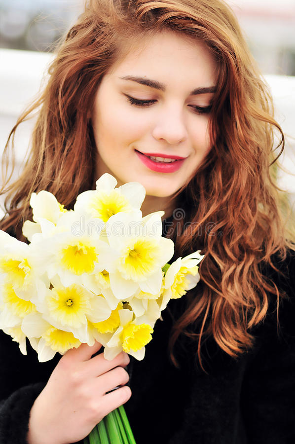 Download Soft spring stock photo. Image of adult, outdoors, hair - 24842268