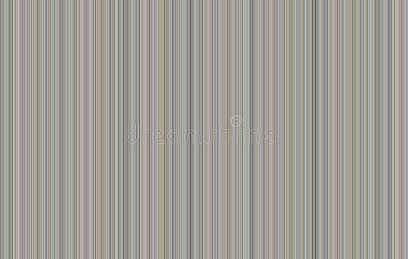 Soft Stripe Background. Multi-colored striped background with lines of variable widths stock illustration