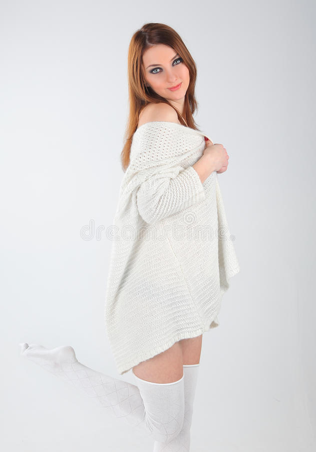 Soft Sweater Royalty Free Stock Image