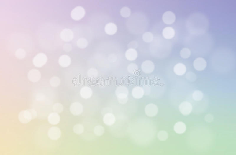 Soft and sweet pastel abstract gradient background. Blurred natural bokeh abstract wallpaper. Christmas light. stock images