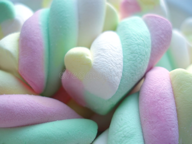 Soft sweets royalty free stock photos
