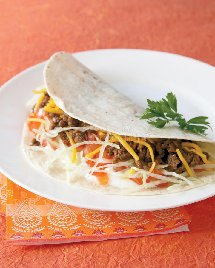 Download Soft Taco Royalty Free Stock Photos - Image: 11570018