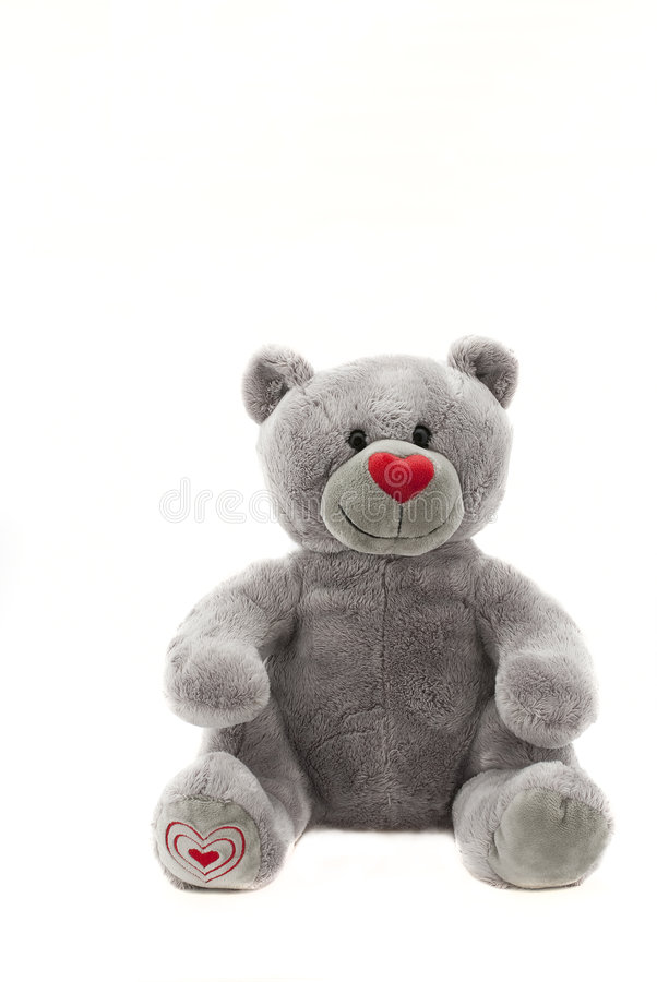 Download Soft toy stock image. Image of furry, color, gift, bear - 7545947