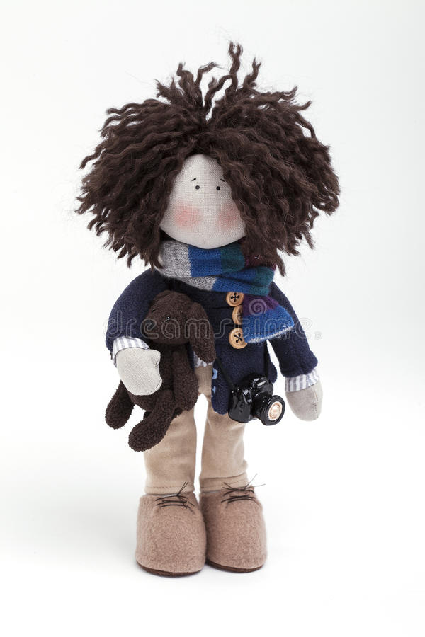 Download Soft toy. stock photo. Image of made, photo, dolls, appealing - 83700108