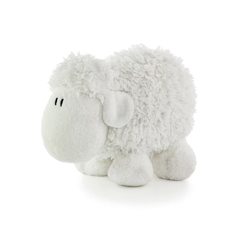 Download Soft Toy White Lamb stock image. Image of cute, children - 38065377
