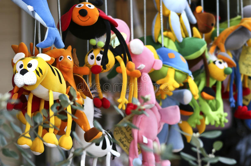 Soft Toys royalty free stock images