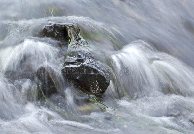 Download Soft Water Rushing Over Rocks Stock Image - Image of white, oregon: 27242167
