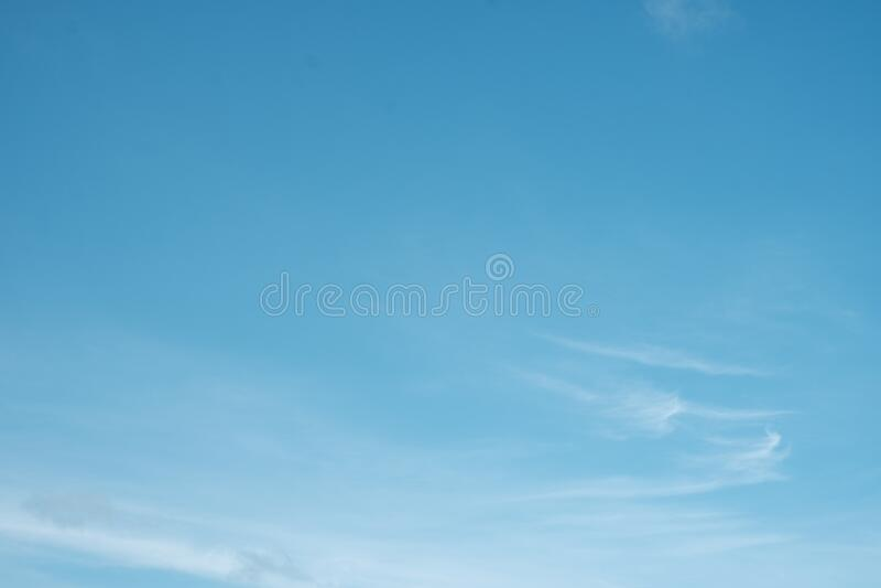 Blue sky background royalty free stock photography
