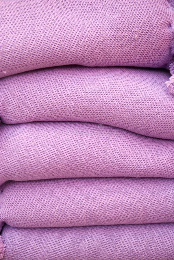 Free Soft Wool In Purple Stock Image - 4911641