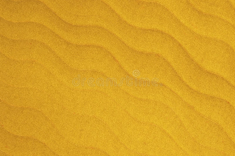 Soft yellow wave is like Beach sand texture abstract background stock photography