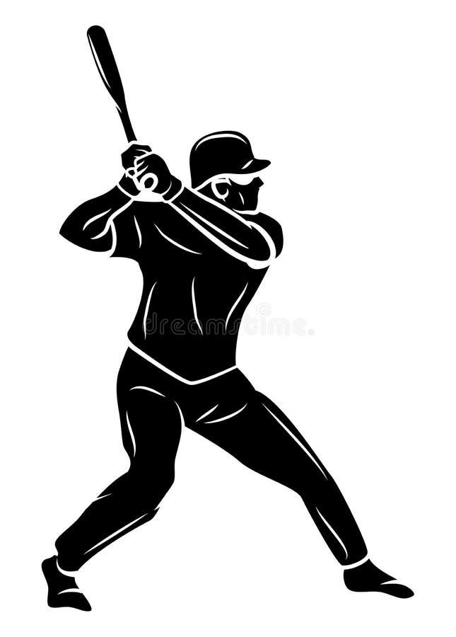 softball φορέων έφηβος απεικόνιση αποθεμάτων