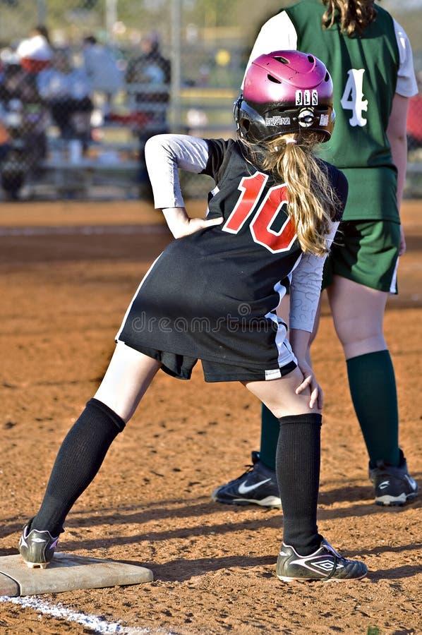 softball φορέων βάσεων νεολαίες στοκ εικόνες