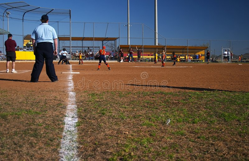 softball zdjęcia stock