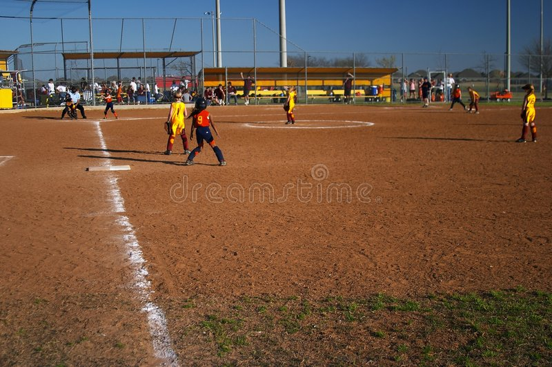 softball zdjęcie royalty free
