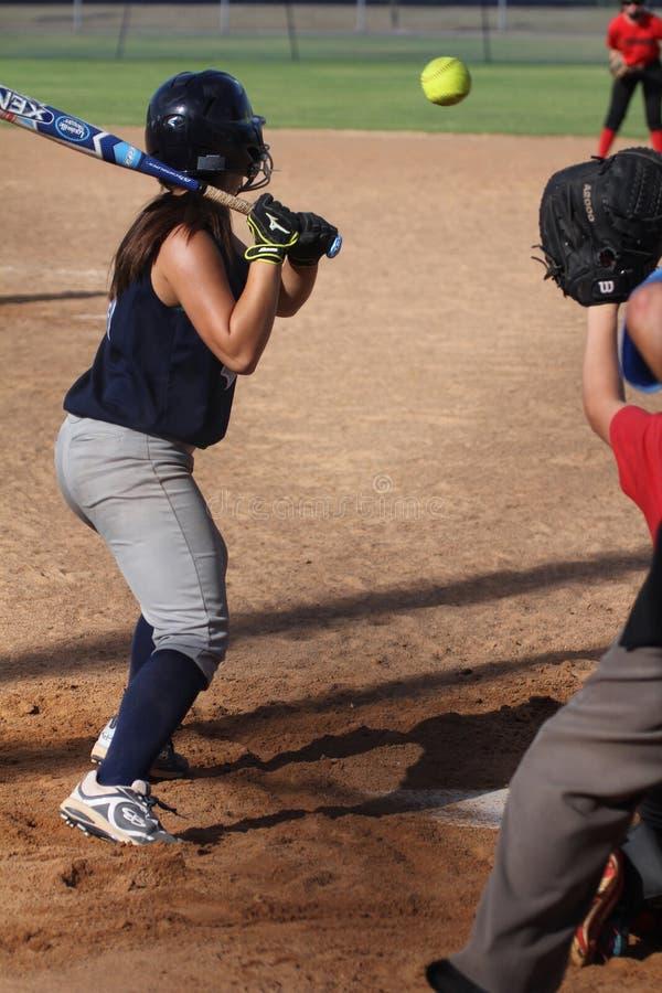 softball foto de archivo