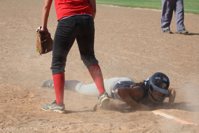 softball fotos de archivo