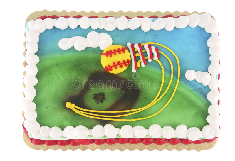 Download Softball cake stock photo. Image of frosted, diamond, background - 2544688
