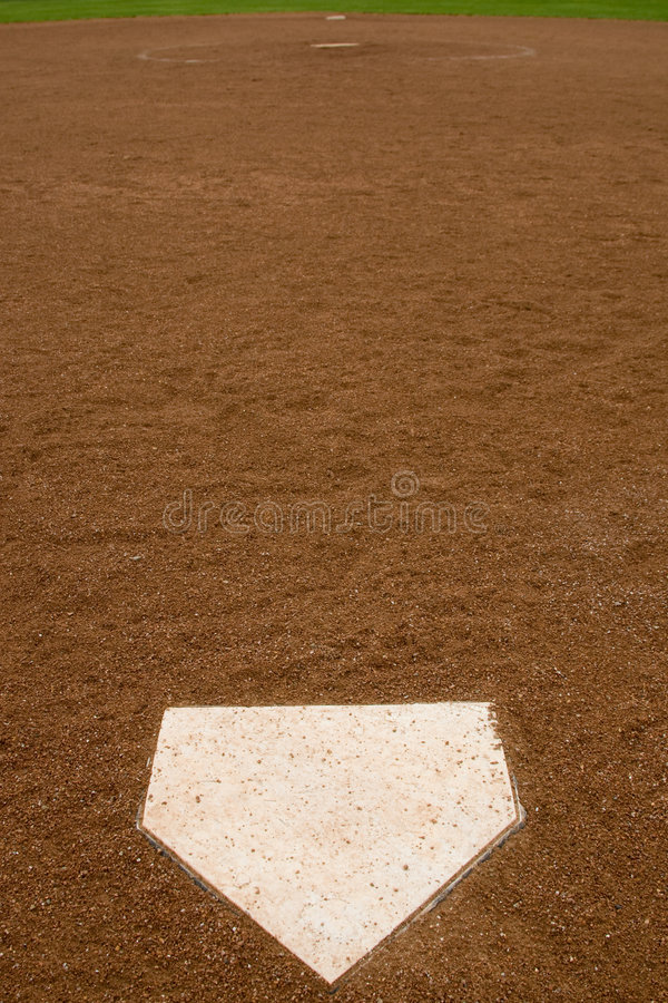 Softball-Diamant stockbild