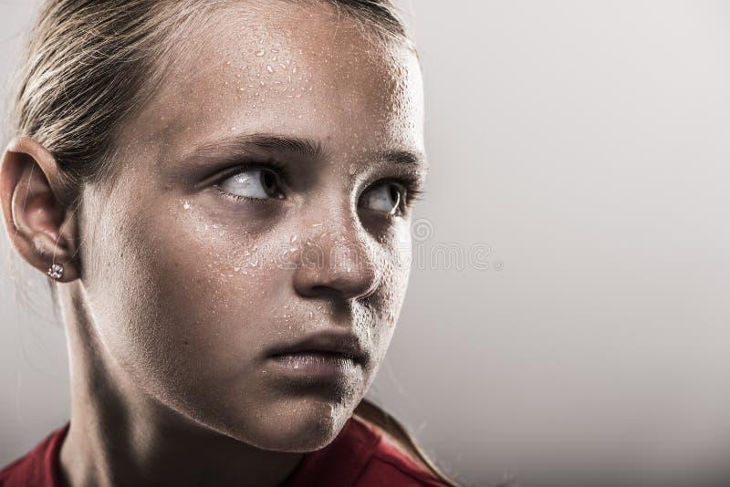 Softball dziewczyna obrazy stock