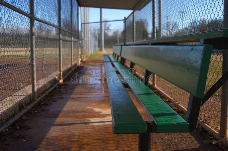 Softball fields royalty free stock photos