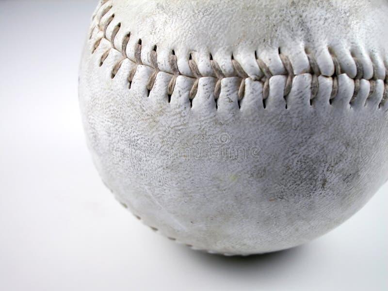 Softball sporco immagini stock libere da diritti