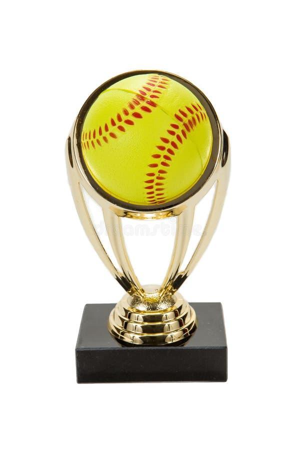 Softballa trofeum zdjęcia royalty free