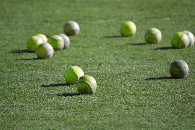 Softballe zdjęcia stock