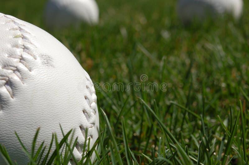 Softballs royalty-vrije stock foto's