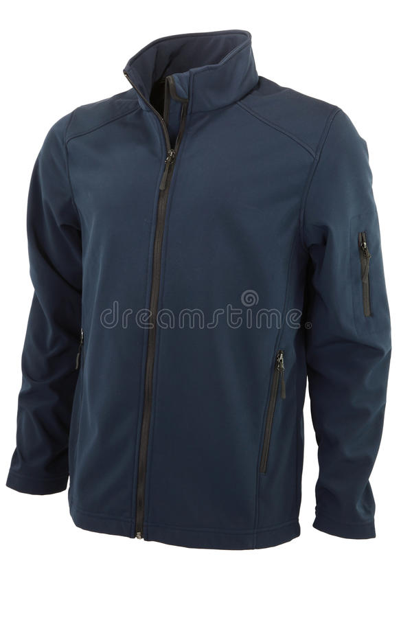 Softshell Jacket Front royalty free stock photos