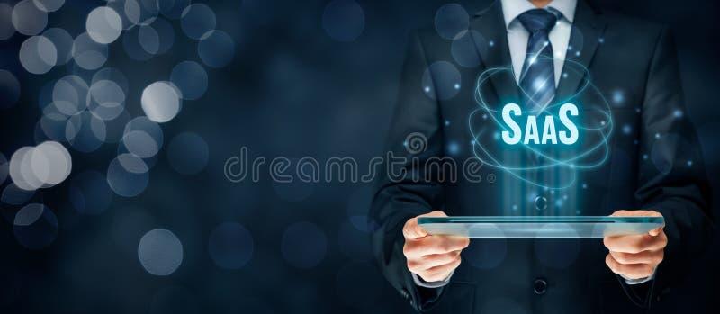 Software als Dienst SaaS stock foto's