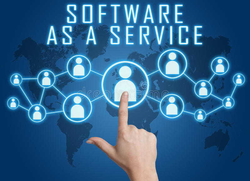 Software als Service stockfotografie
