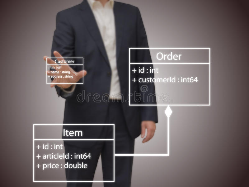 Software Architect stock photos