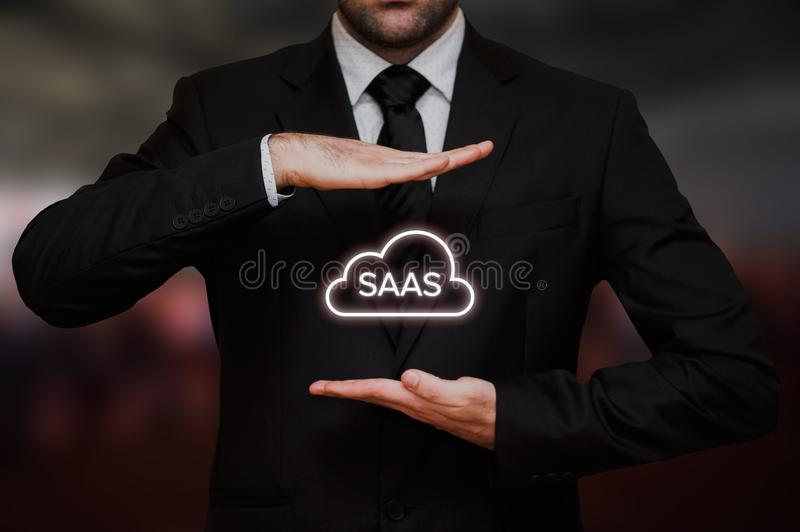 Software as a service SAAS stock photos
