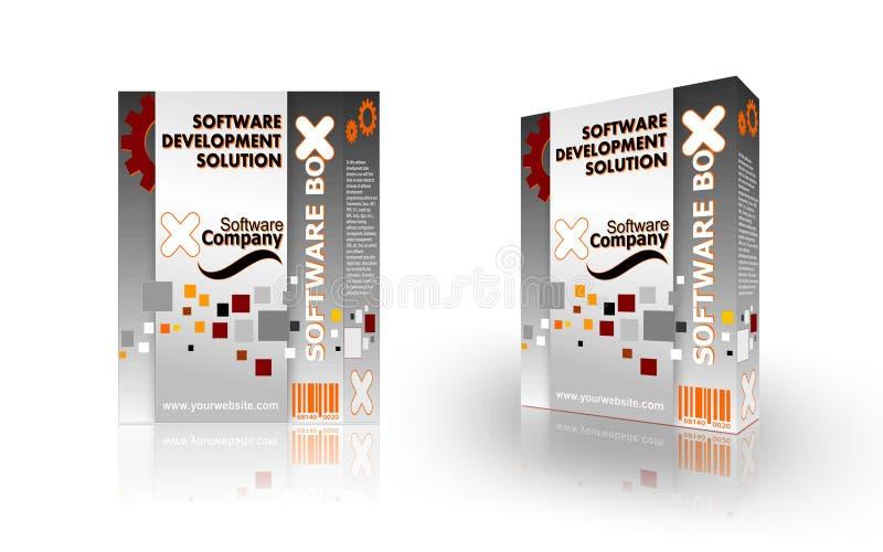 Download Software boxes stock illustration. Illustration of dimensional - 10334650