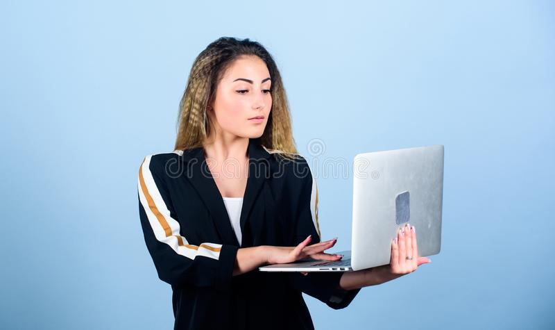 Software developer. Developer write code. Project manager. Job openings for junior developer. Surfing internet. Study royalty free stock photos